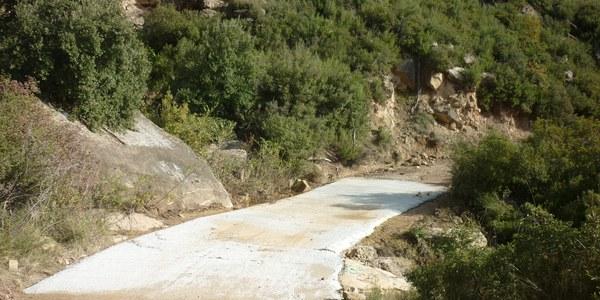 Condicionament dels camins de can Nadal a Riner i de la cruïlla de cal Garric a Solsona