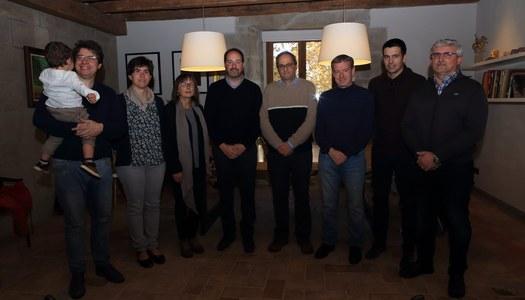 El Molt Honorable Senyor President de la Generalitat , Quim Torra, fa estada a Riner