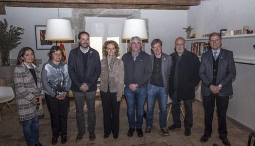 La consellera de Cultura de la Generalitat visita Riner