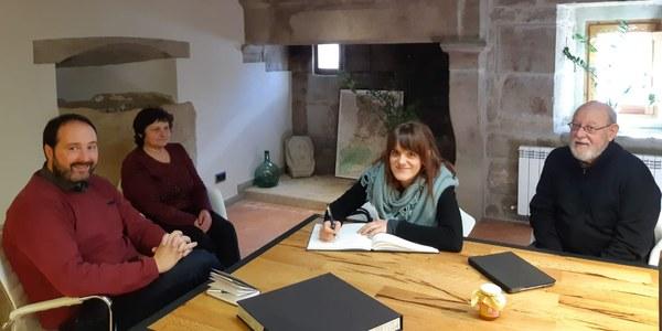 La delegada del Govern a la Catalunya Central visita Riner