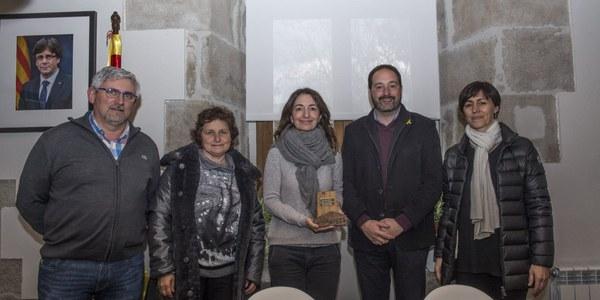 La secretària de Medi Ambient i Sostenibilitat de la Generalitat de Catalunya visita Riner durant el transcurs de les jornades Tècniques de la Mel